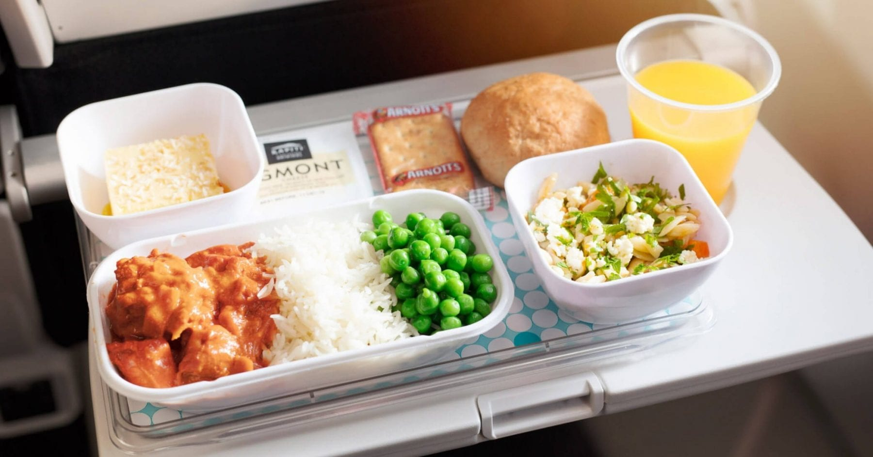 air nz economy class meal