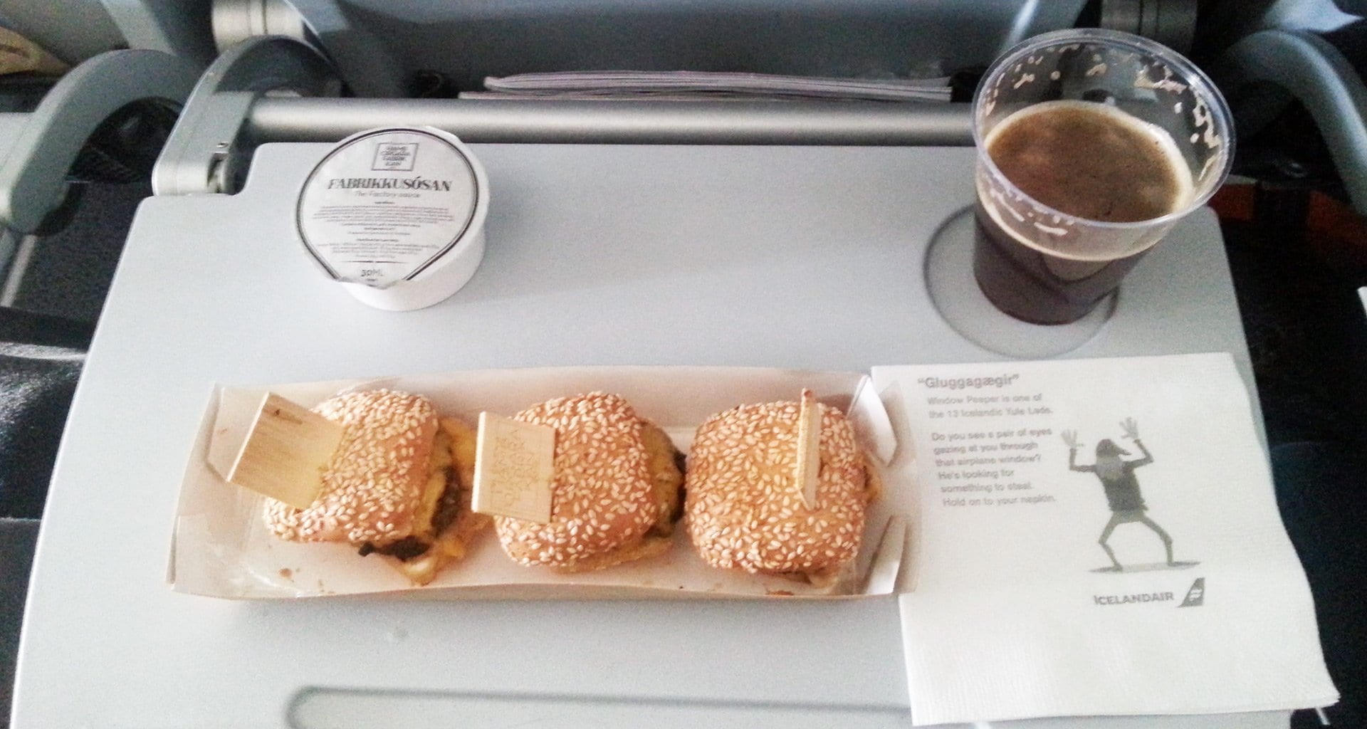 Icelandair Meals Business And Economy Class Review