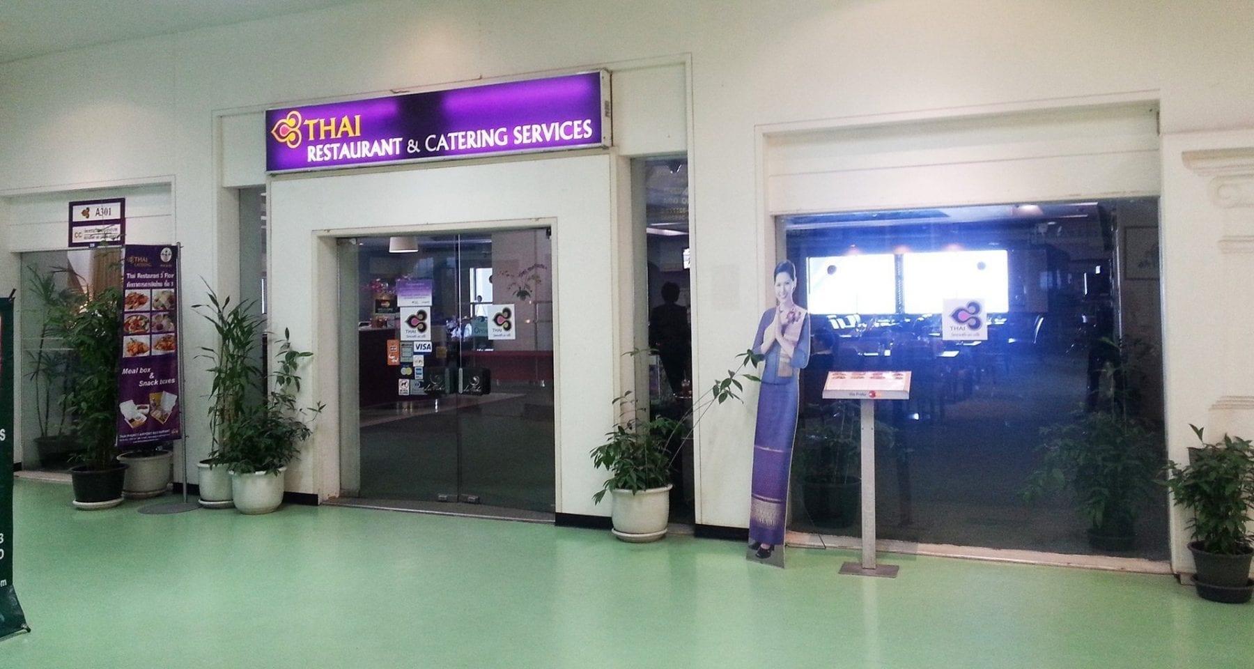 Thai Airways Restaurant facade