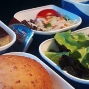 Bangkok Airways economy class meal