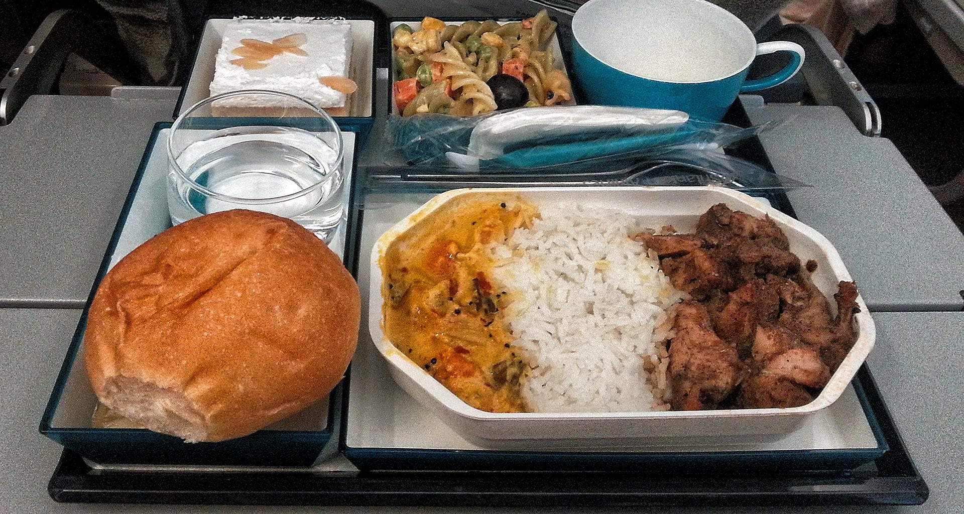 Sri Lankan airlines economy class meal