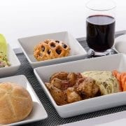 brussels airlines business class meals