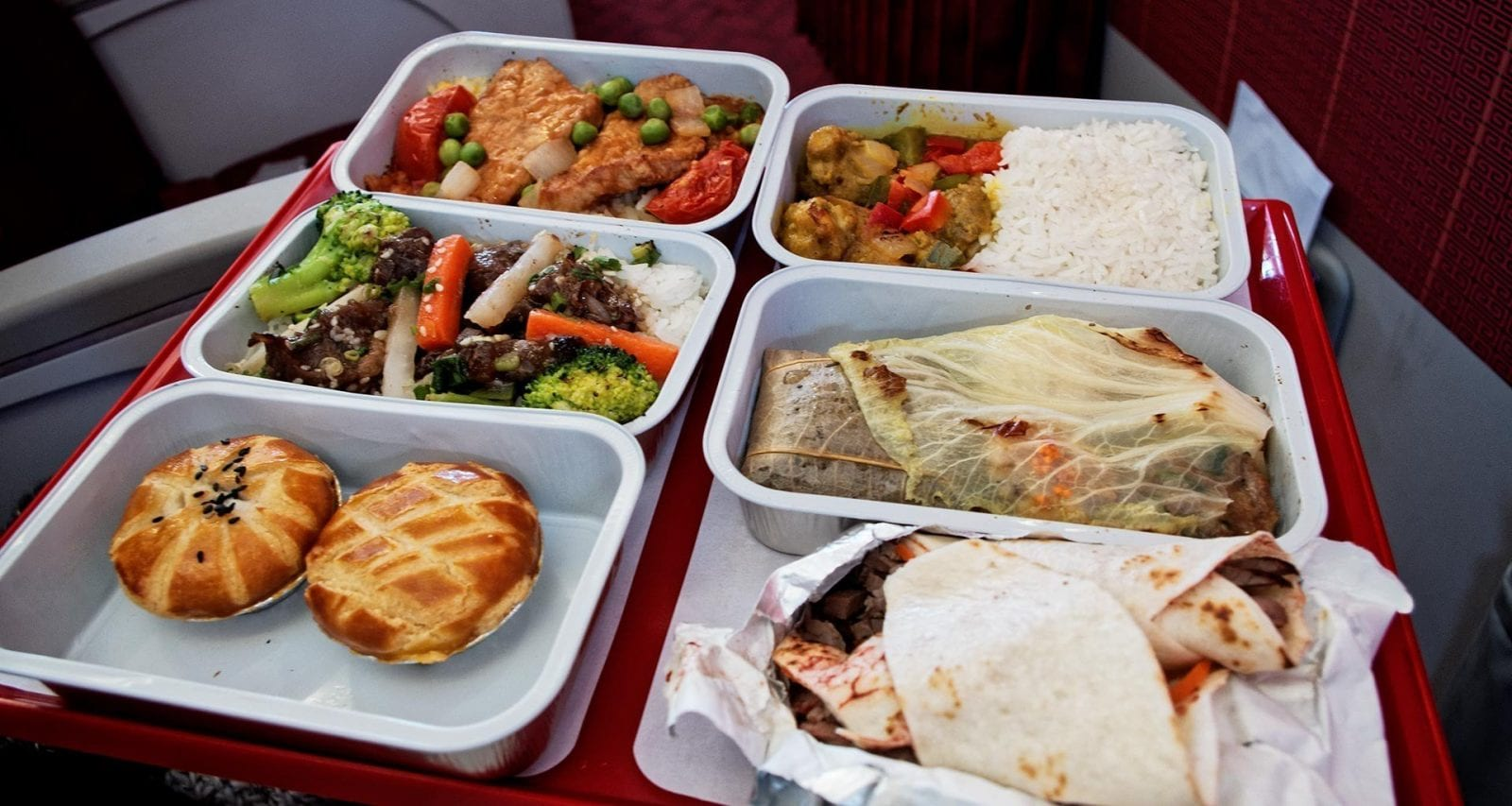 Hong Kong Express Airlines pre order meals.
