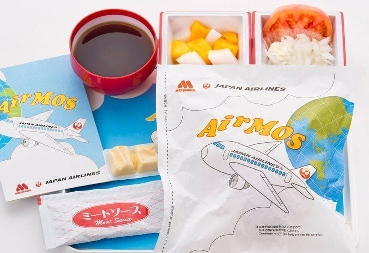 Japan airlines Air Mos meal series