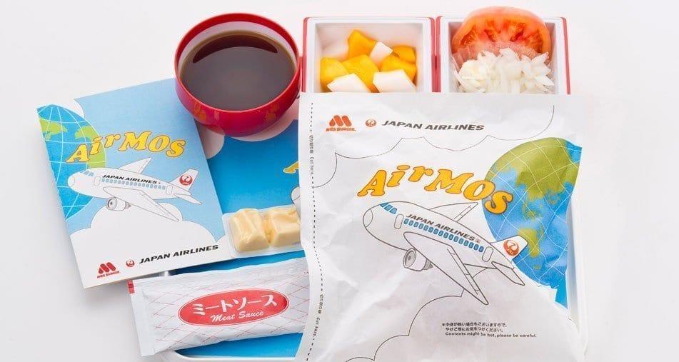 Japan airlines Air Mos meal series