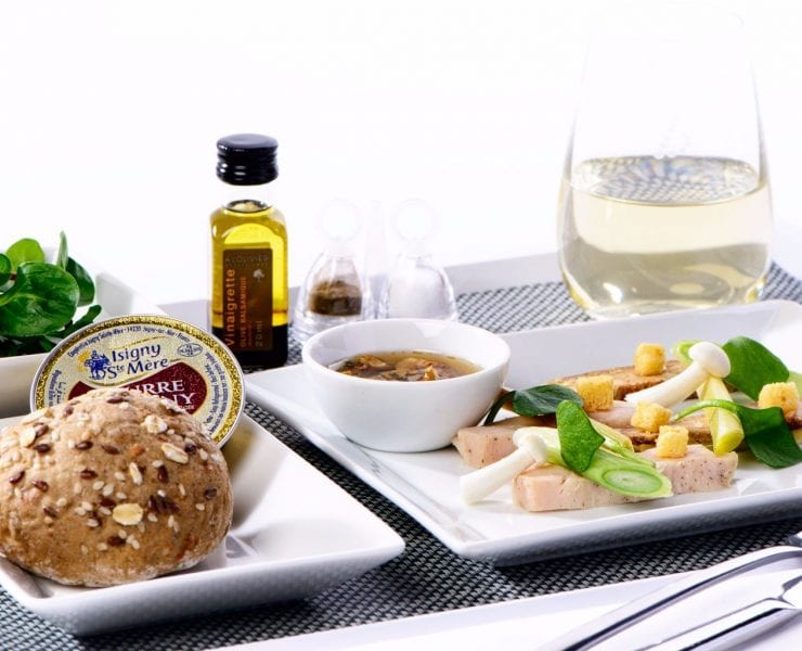 Brussels airlines Belgian Star Chef program