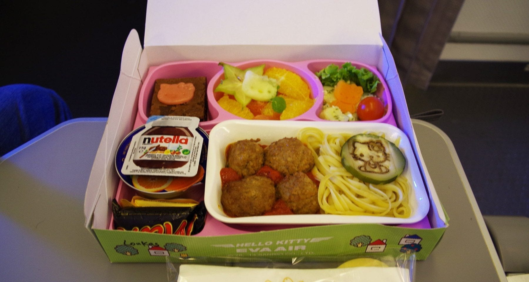 Fresh Meals Delivered >> eva air hello kitty meal
