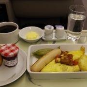 korean air breakfast business class