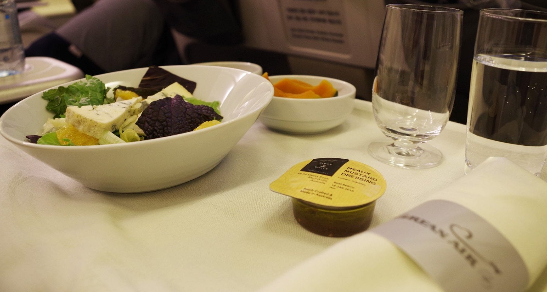 Korean air salad
