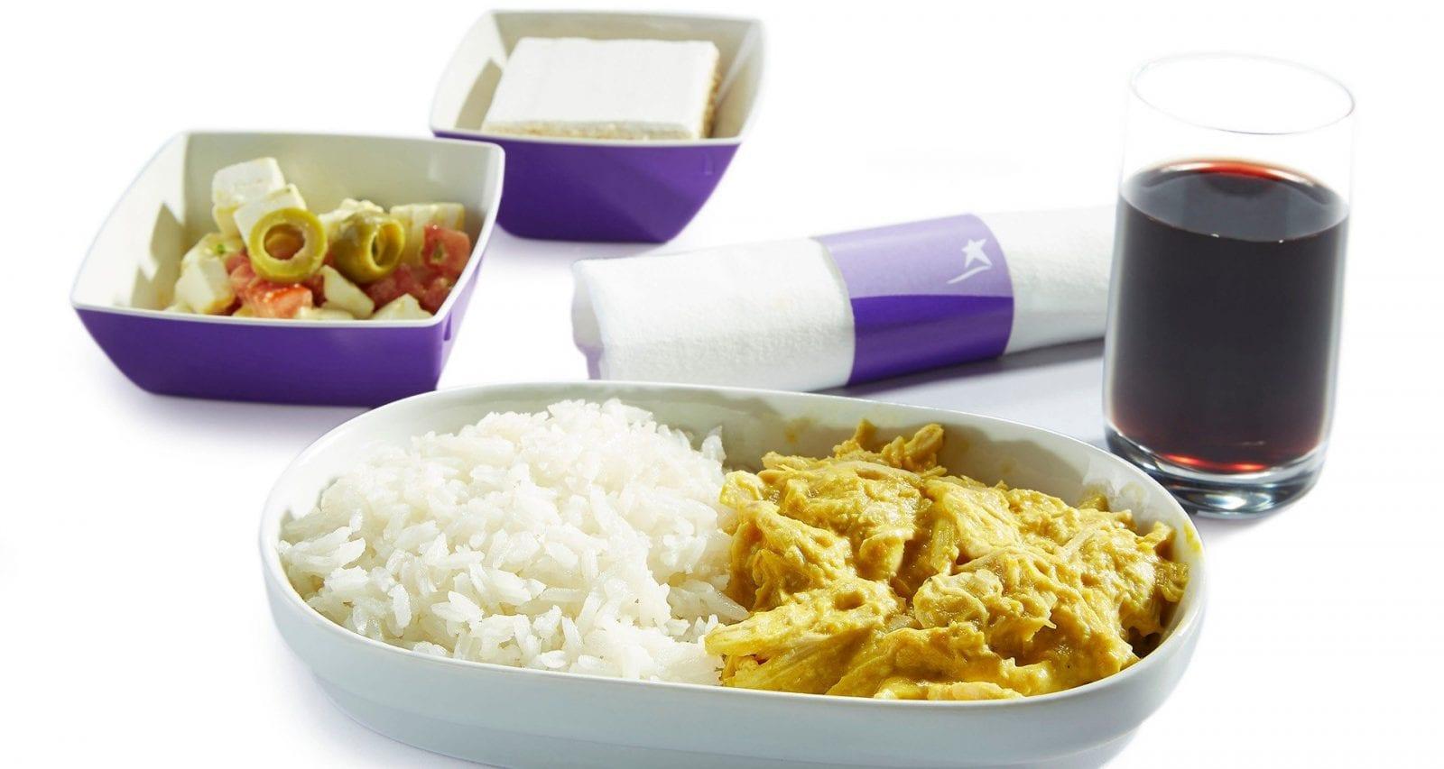 Lan Chile meals