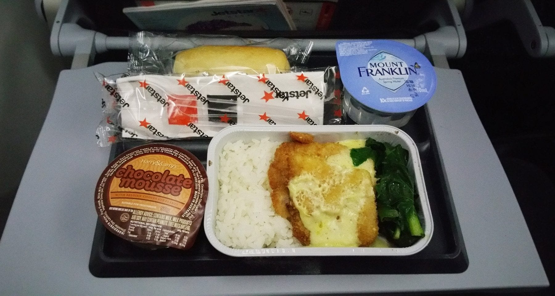 Jetstar economy class pre order meal