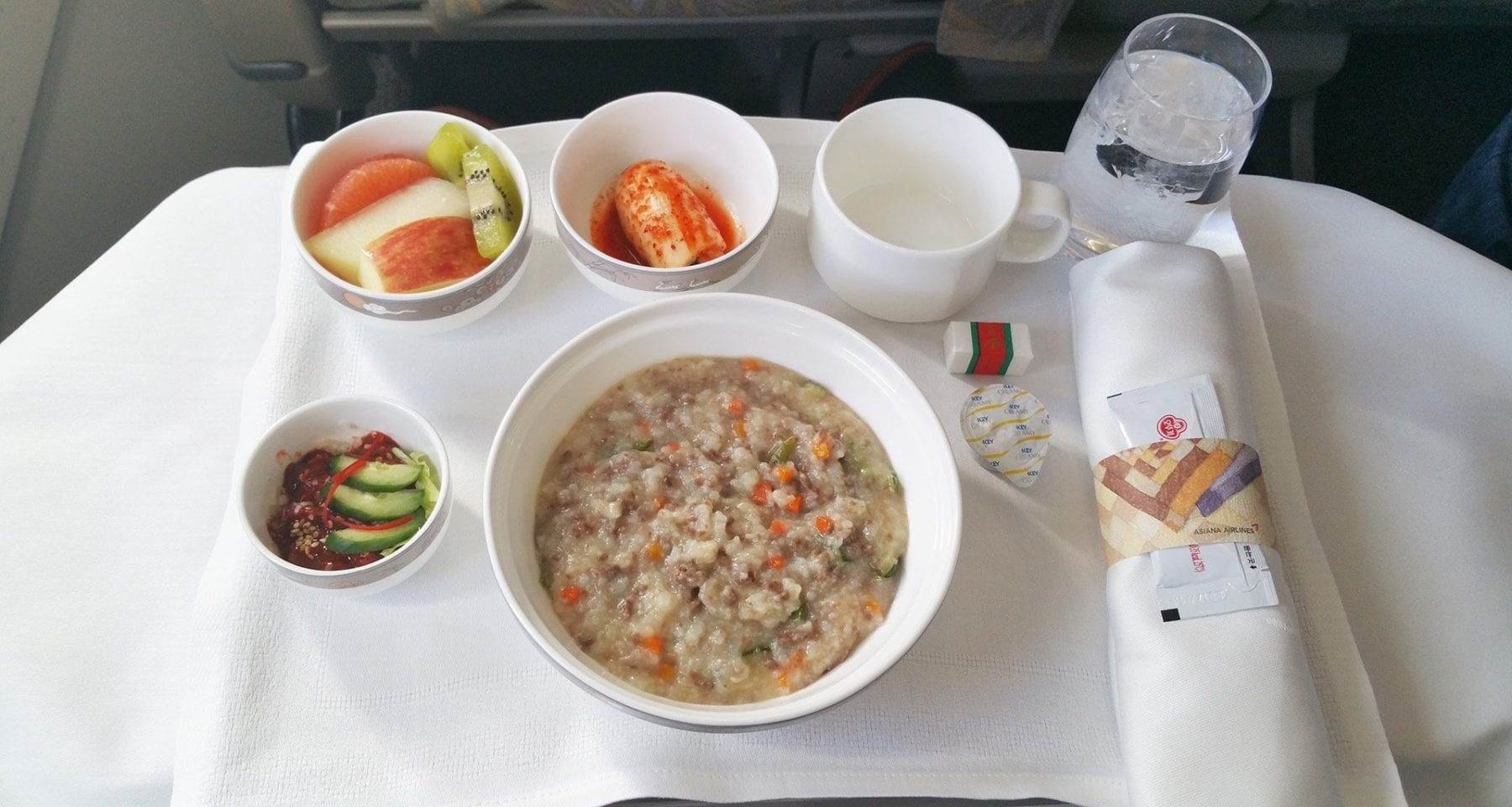 Asiana airlines meal review for Asiana korean cuisine restaurant racine