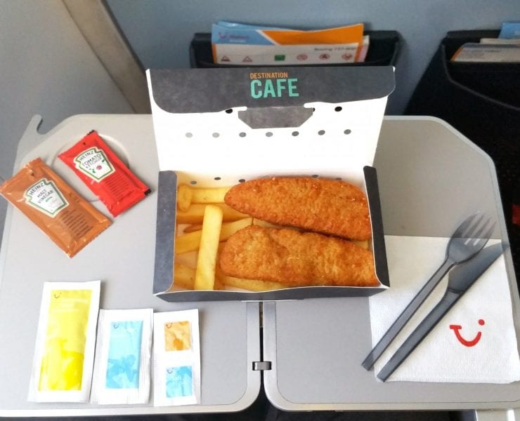 Thomson/TUI inflight meal