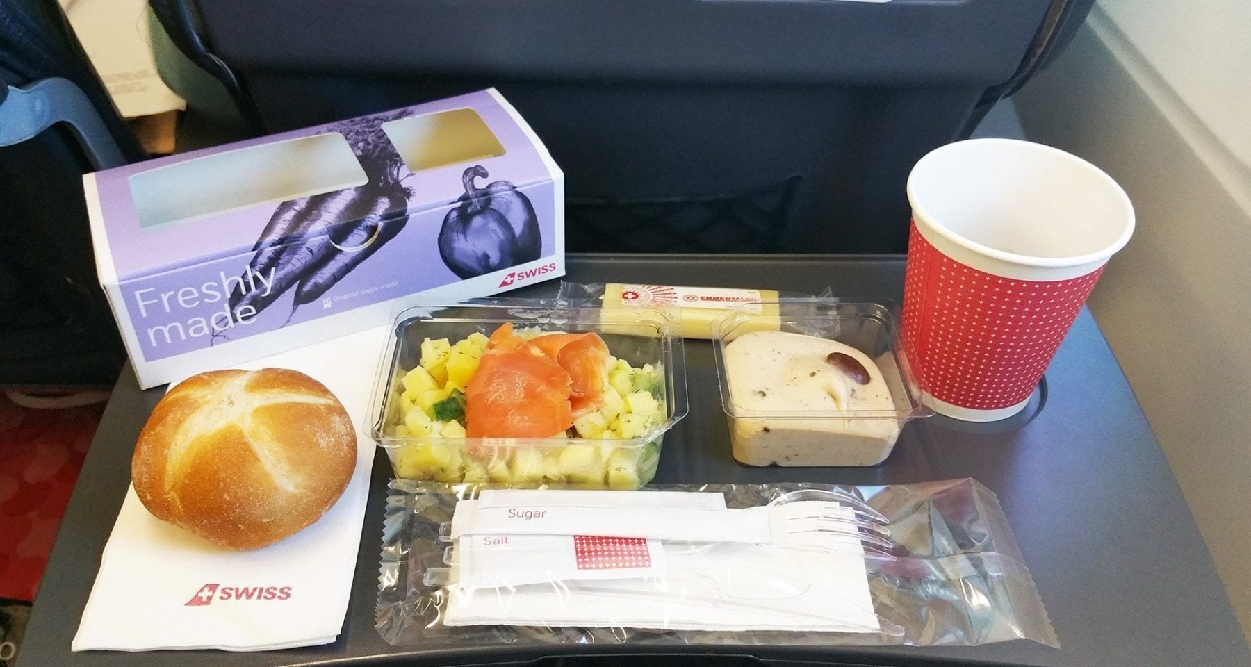 Fresh Meals Delivered >> swiss airlines inflight meal review