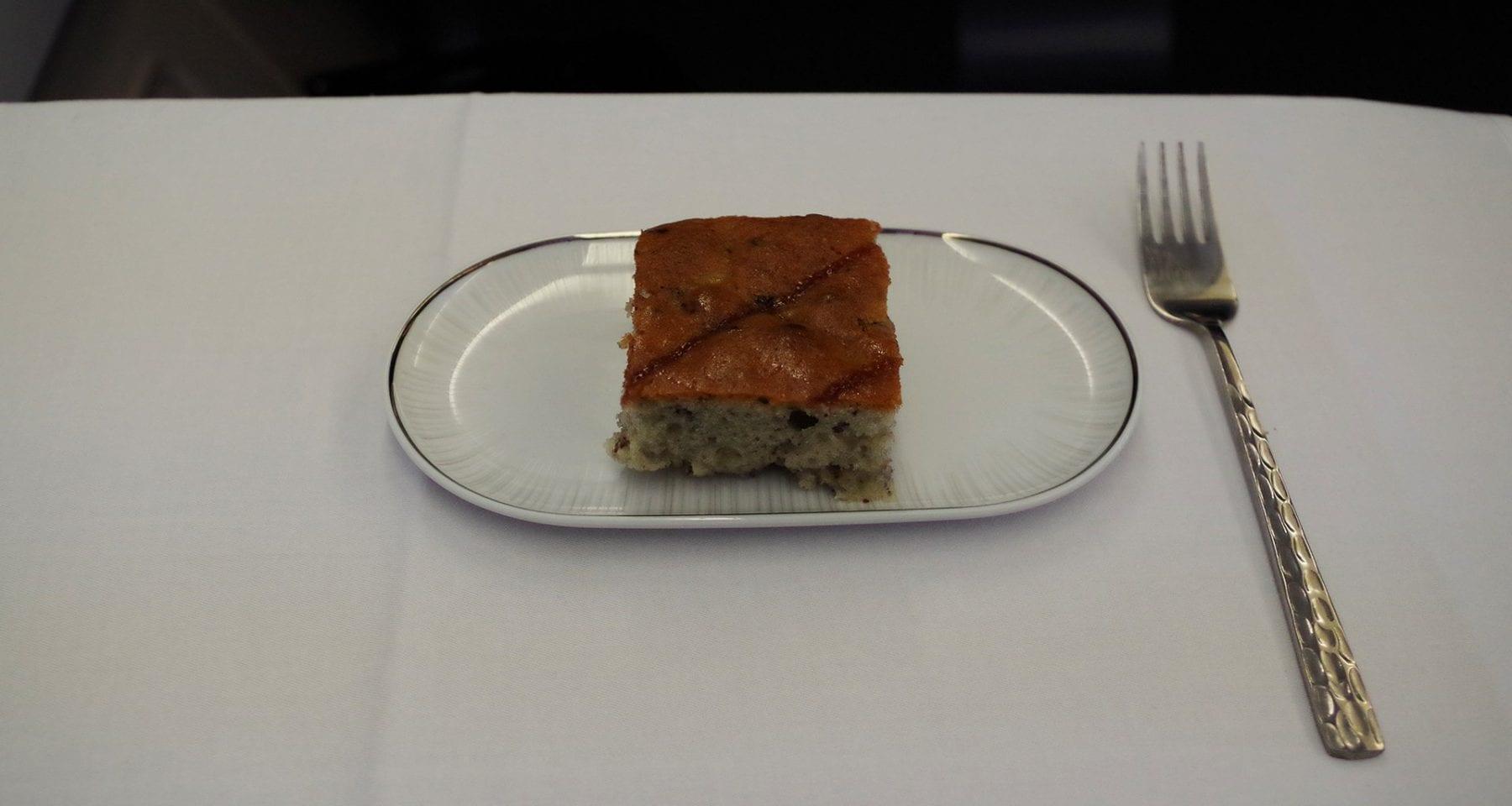 thai airways business class dessert