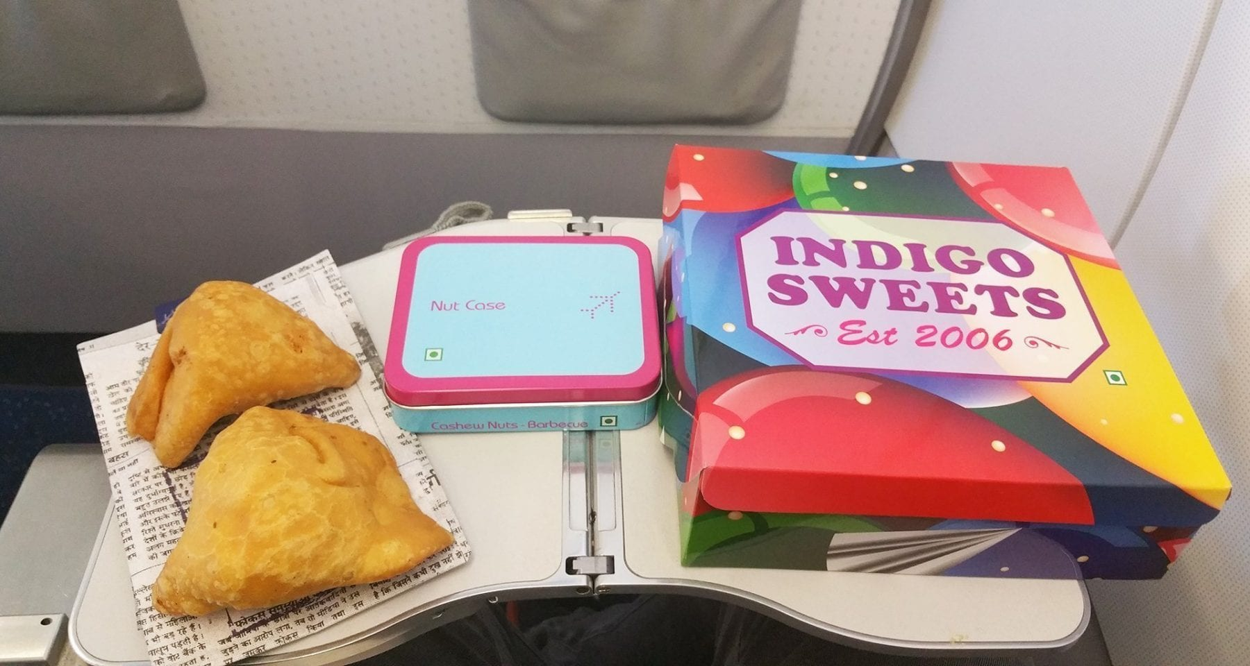 indigo airlines meal