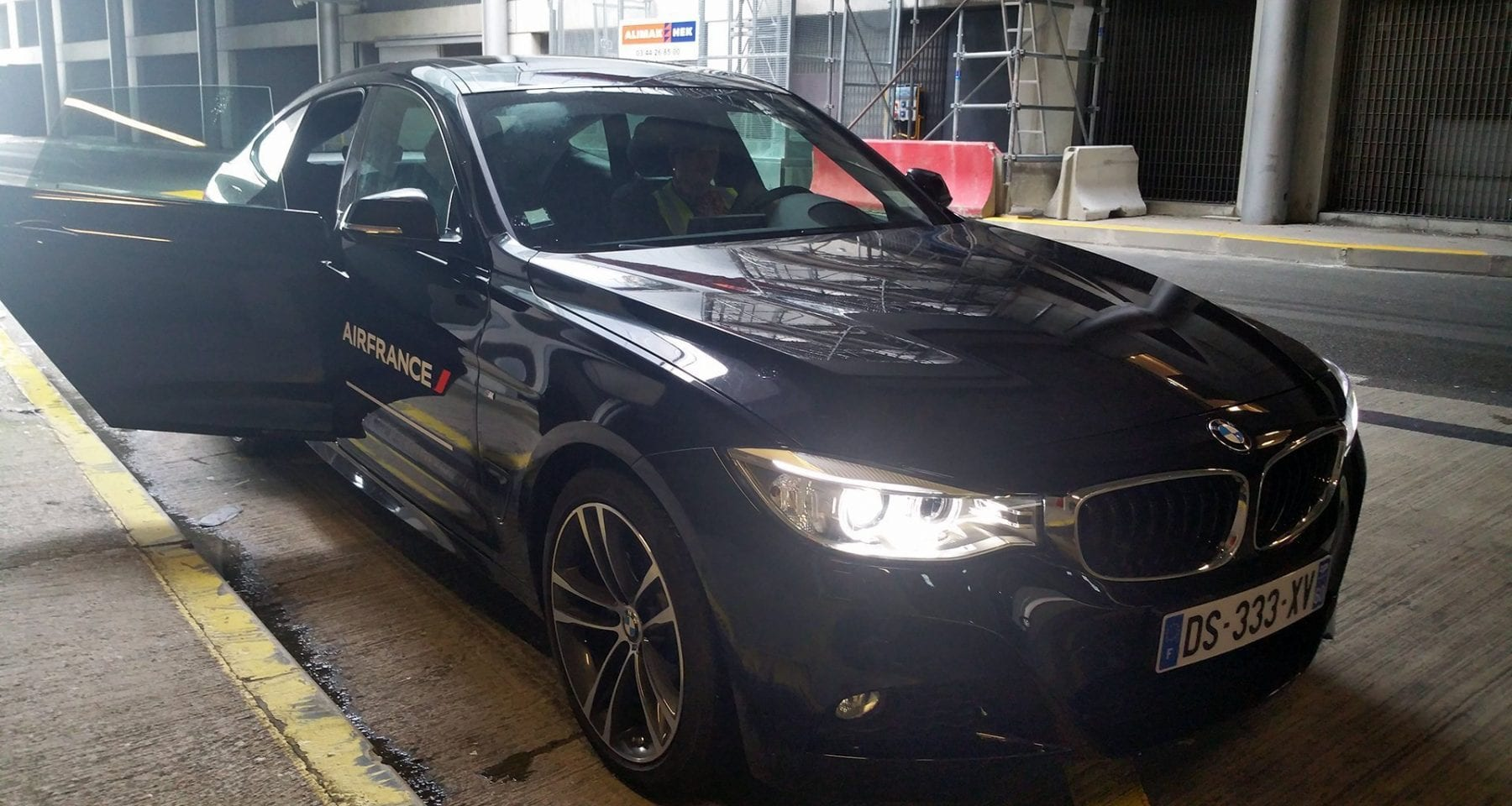 Paris airport Air France BMW service
