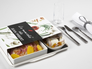 Jean imbert meal by Air France