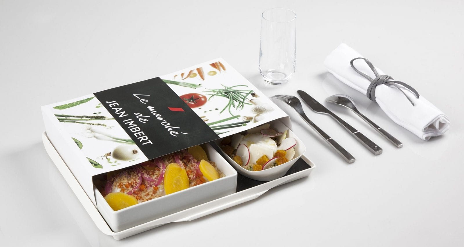 Air France Jean Imbert economy class pre order meal
