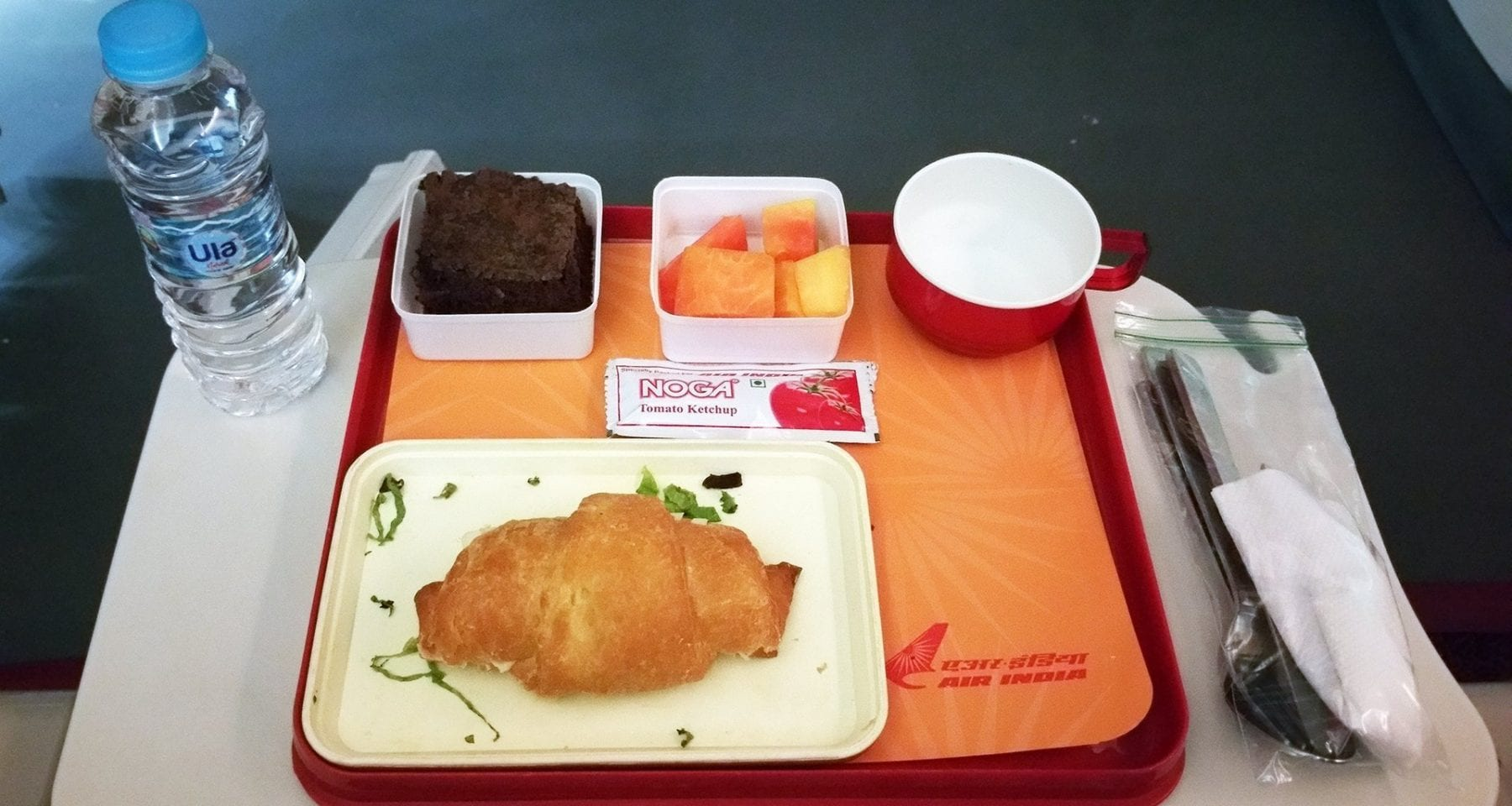 air india second service economy class meal