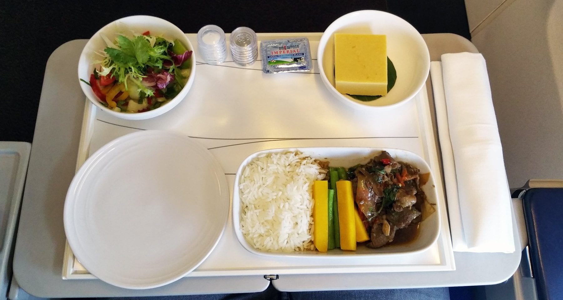 malaysia airlines business class meal