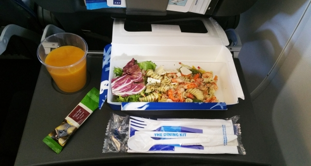 sas airlines inflight meal Europe