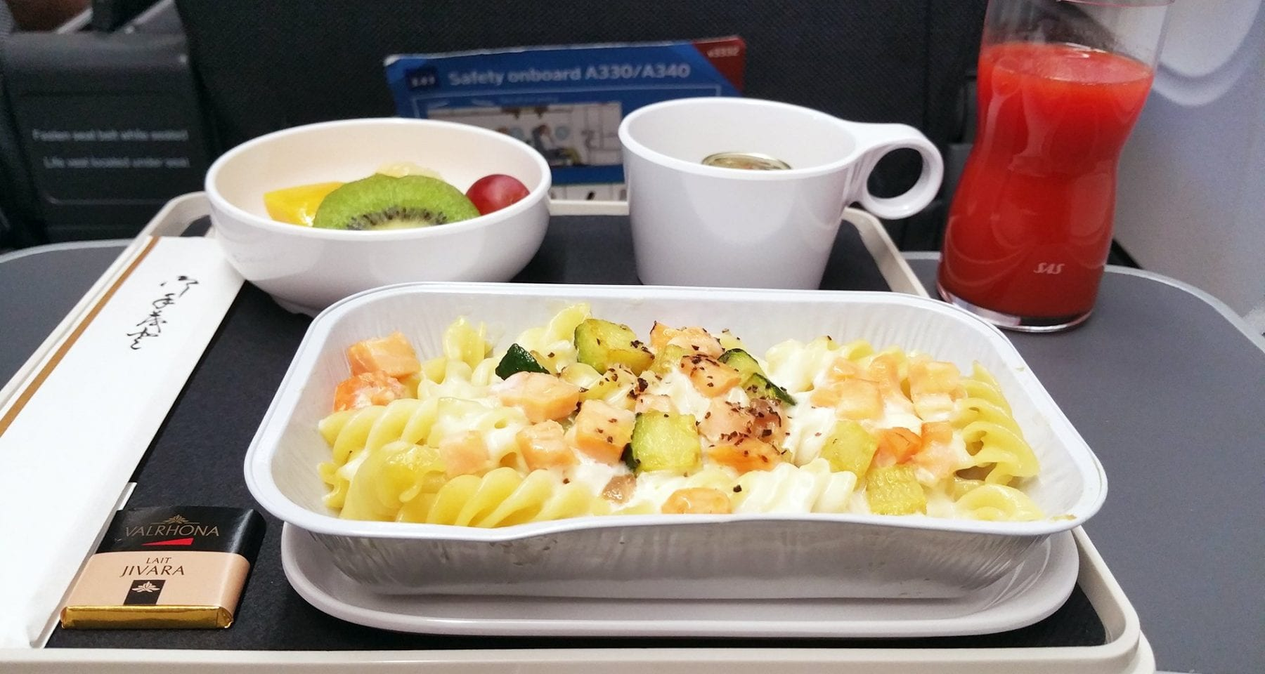 SAS Plus airline meal