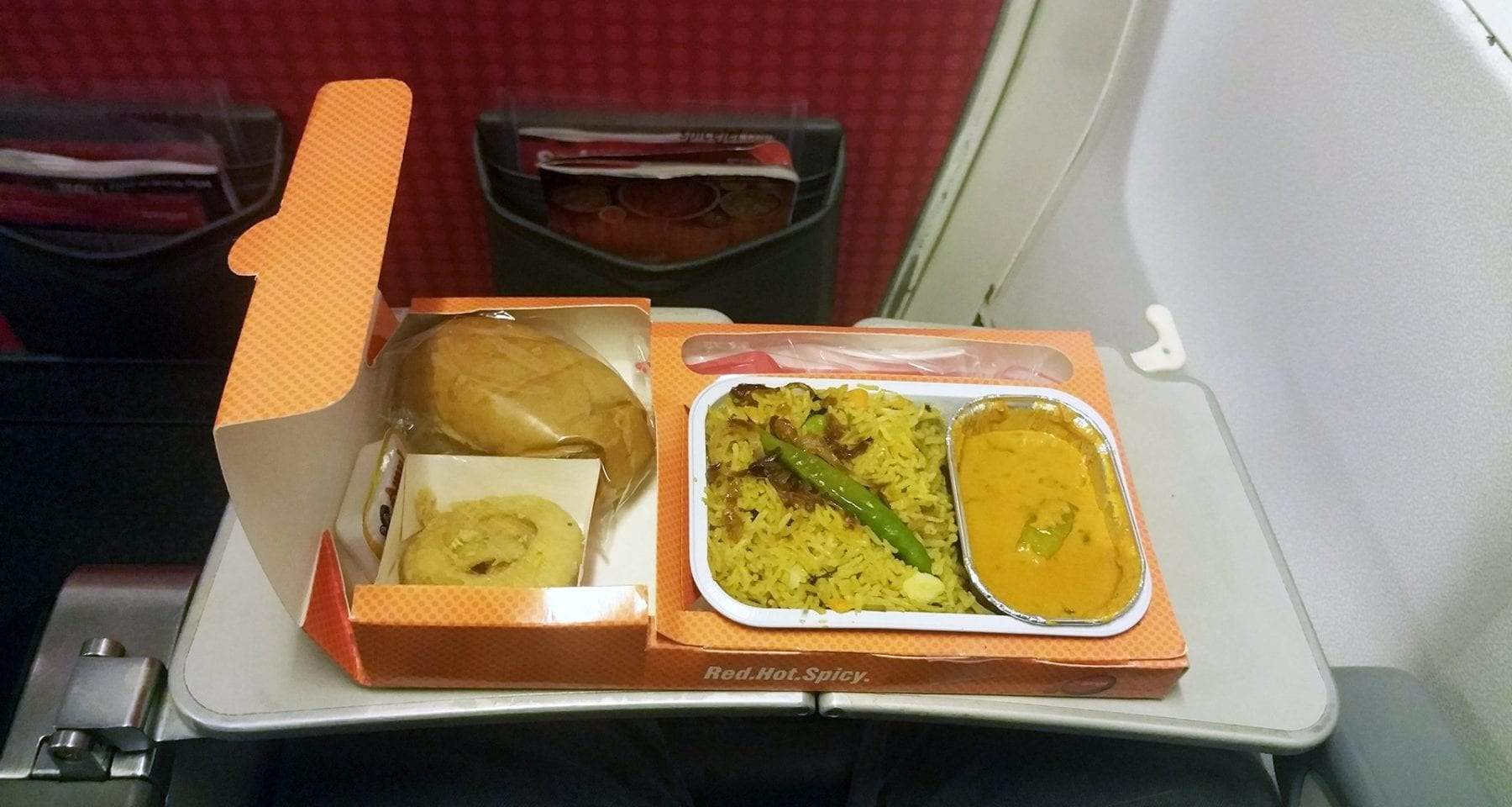 Spicejet economy class pre order meal