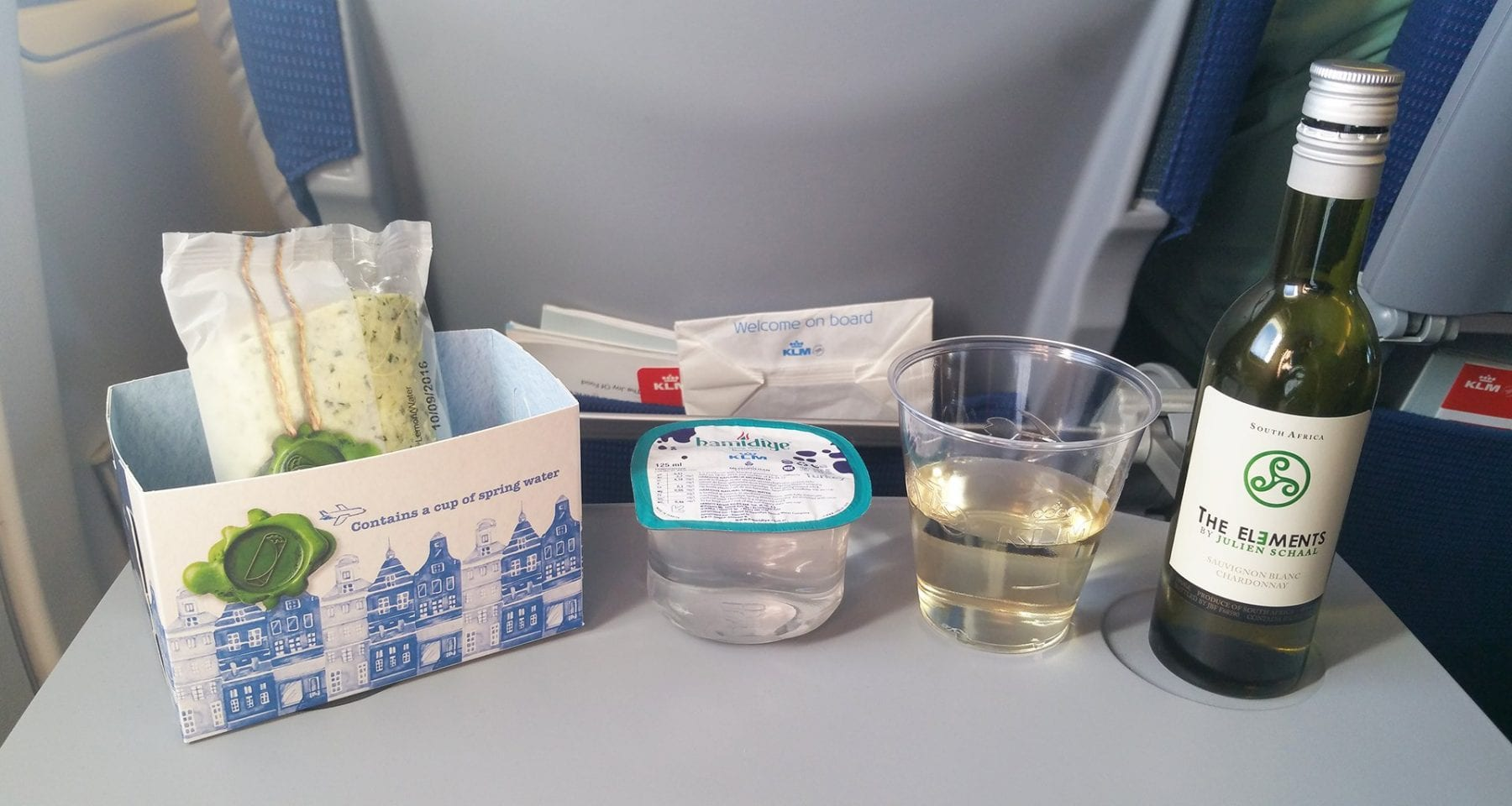 klm economy class meal on european flights