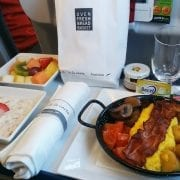 austrian airlines do&co inflight breakfast pre order meal