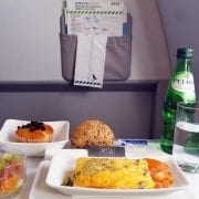 azores airlines business class meal