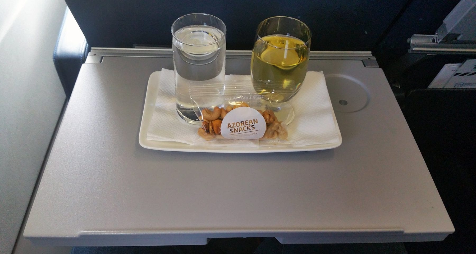 azores airlines inflight snack