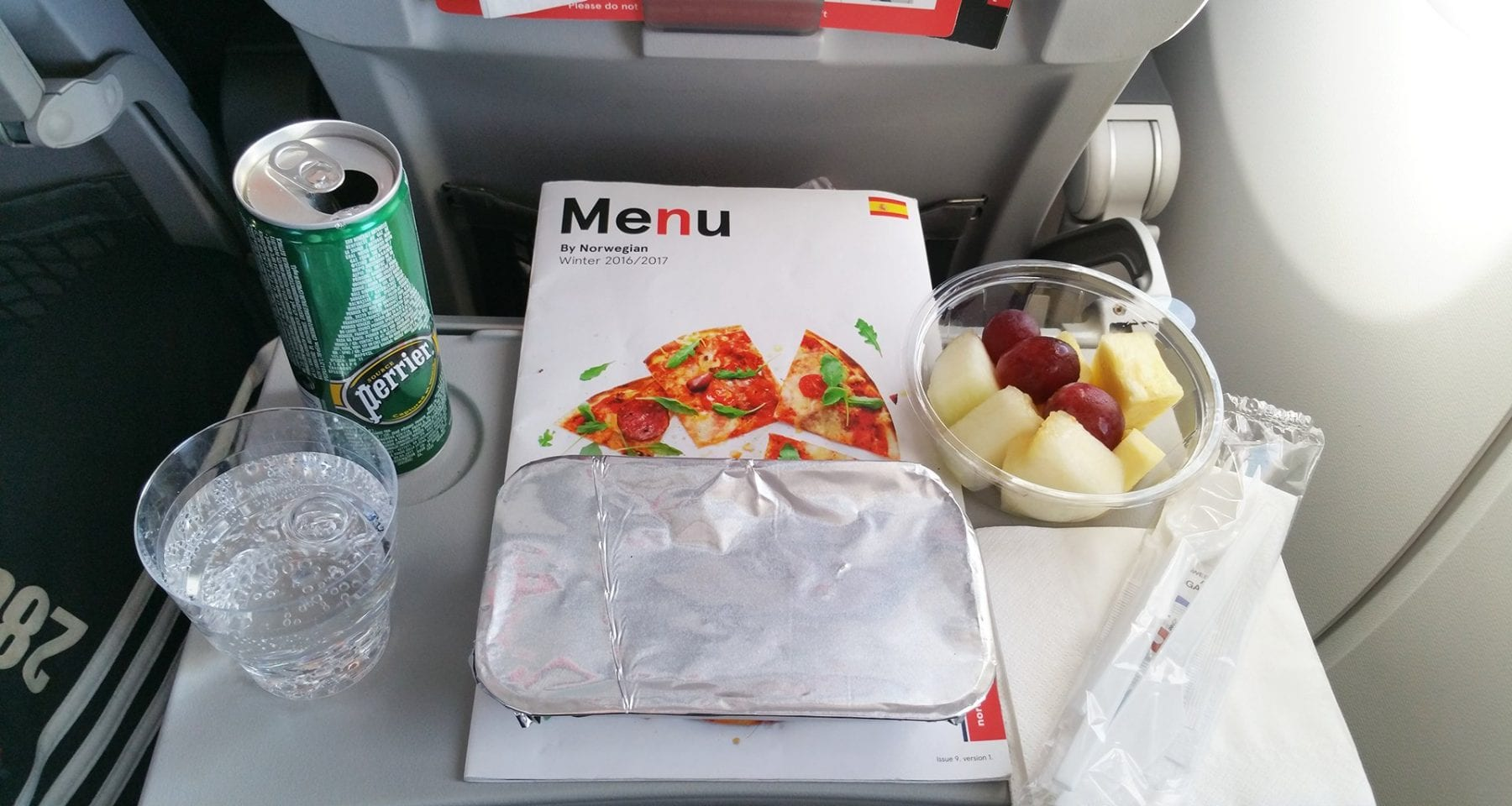 norwegian air meal