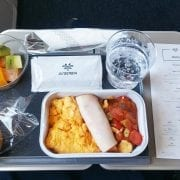 air serbia economy class main meal breakfast