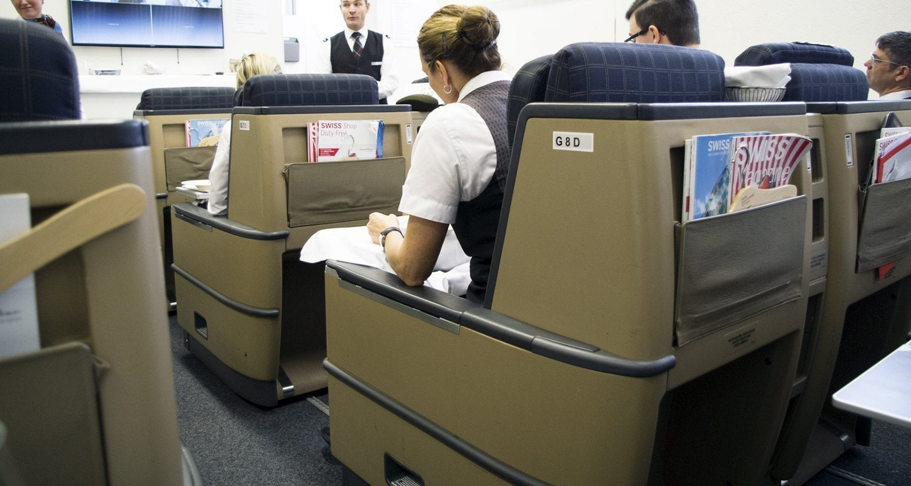 Swiss Airlines First Class Training