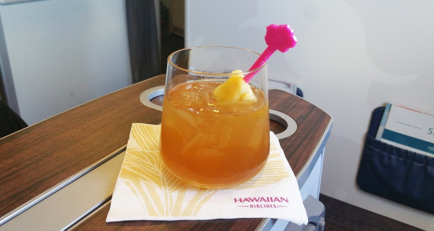 Hawaiian Airlines Inflight Mai Tai