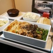 Air France Inflight Meal Business Class
