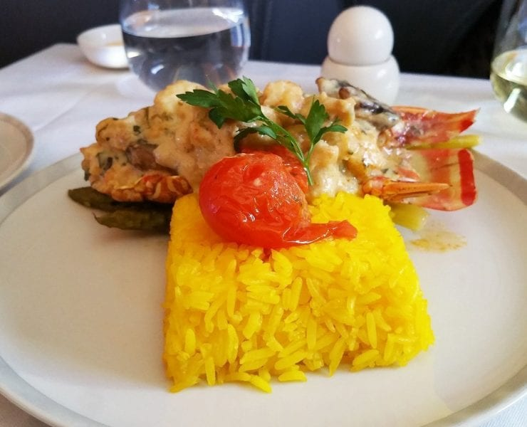 singapore airlines book the cook lobster thermidor