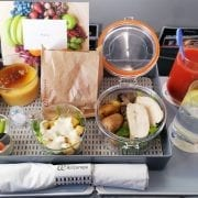 Air Europa Inflight Meal Business Class