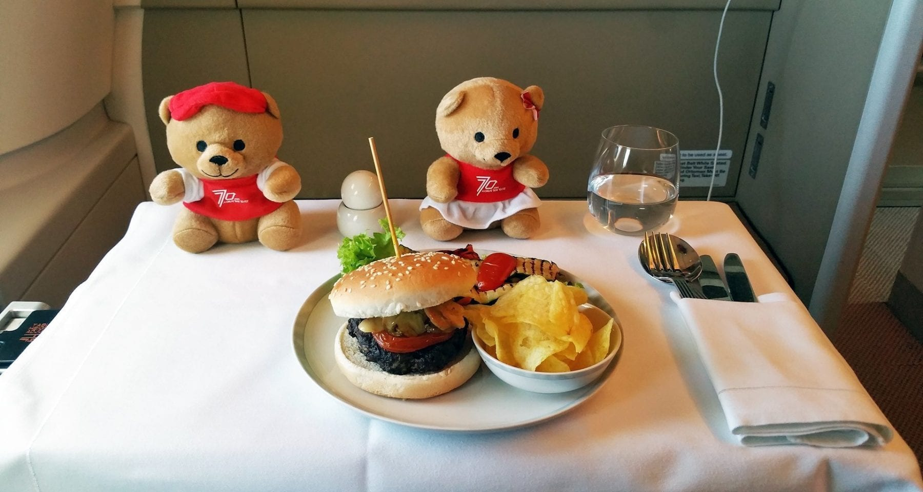 singapore airlines business class kids meals