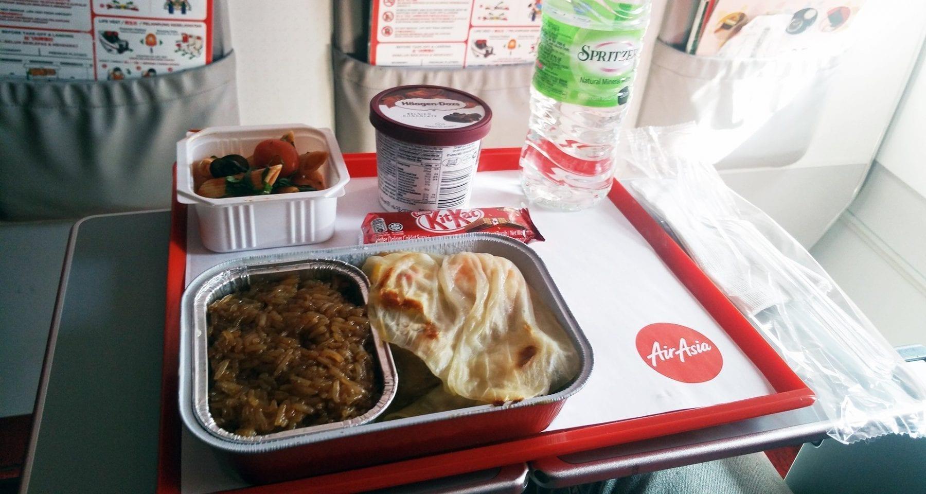 Air Asia Inflight Meal Premium