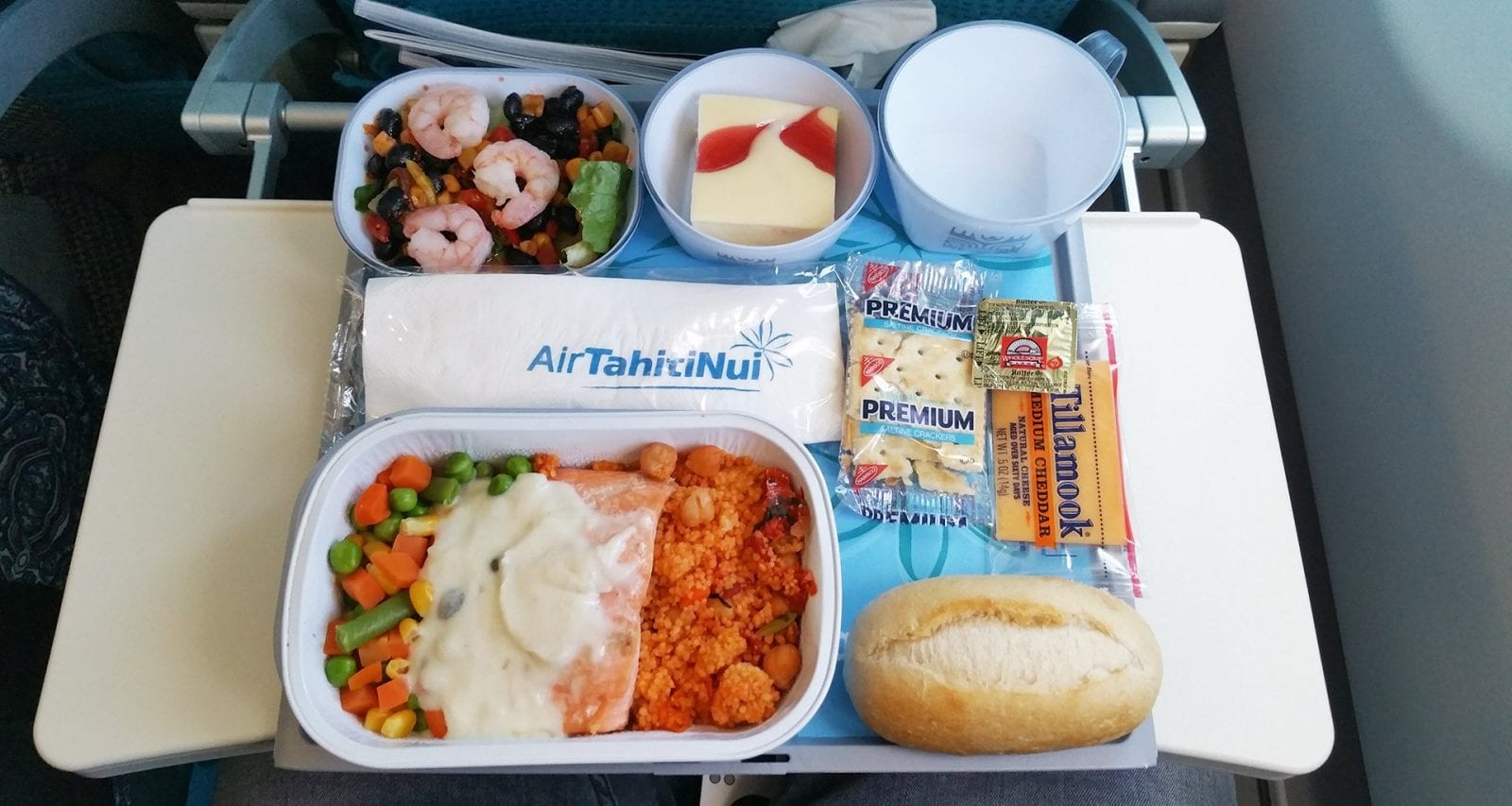 Air Tahiti Nui Meals Economy Class