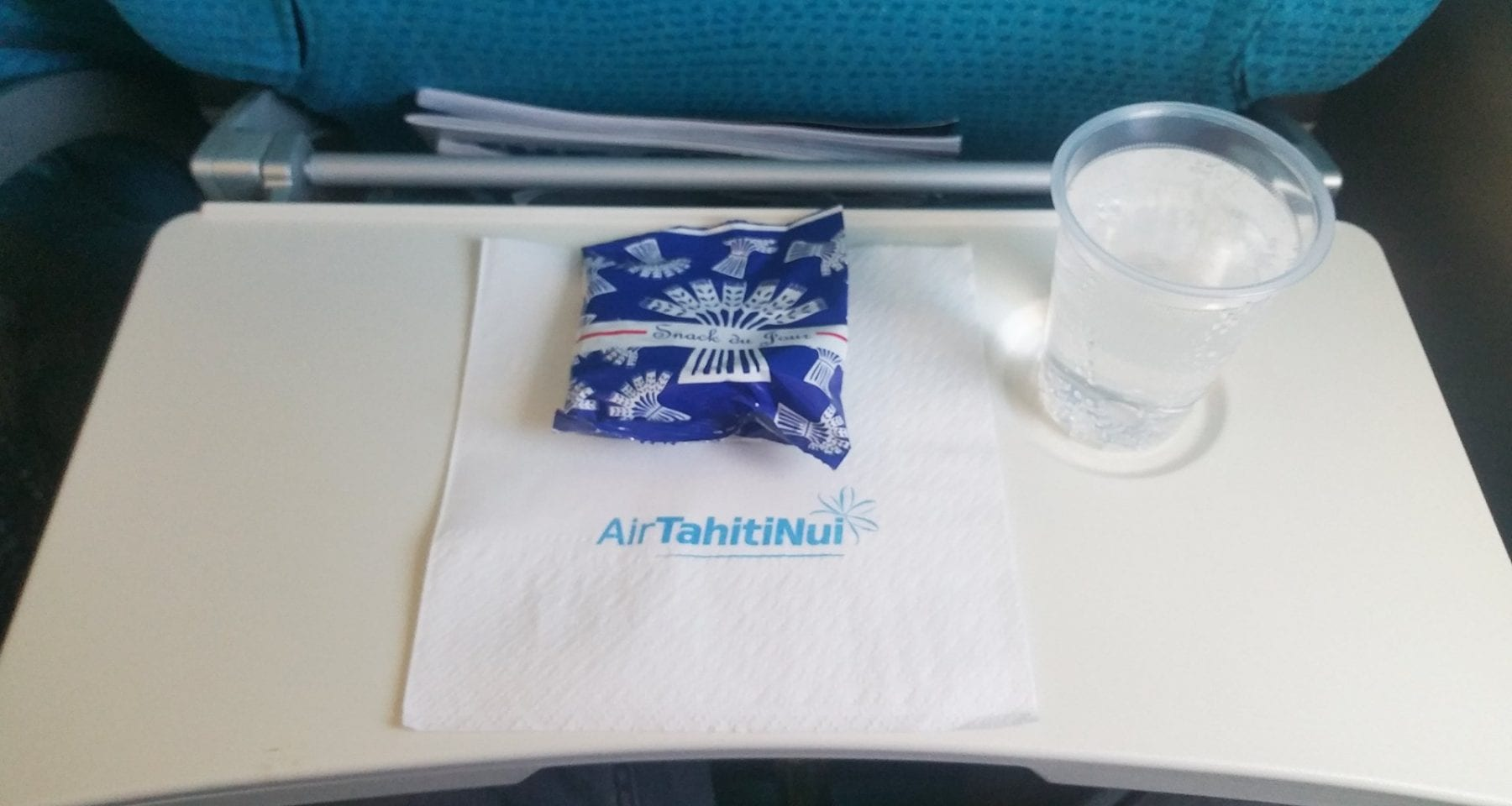 Air Tahiti Nui Drink and Snack Service Economy Class