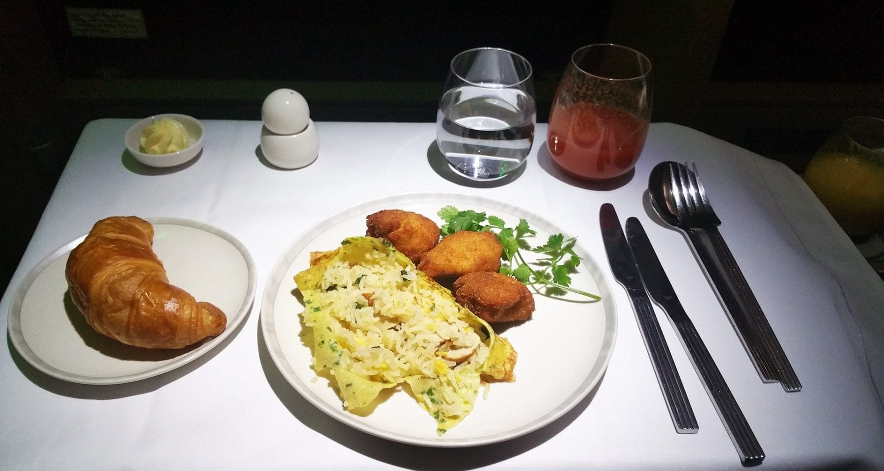 Singapore Airlines child meal business class