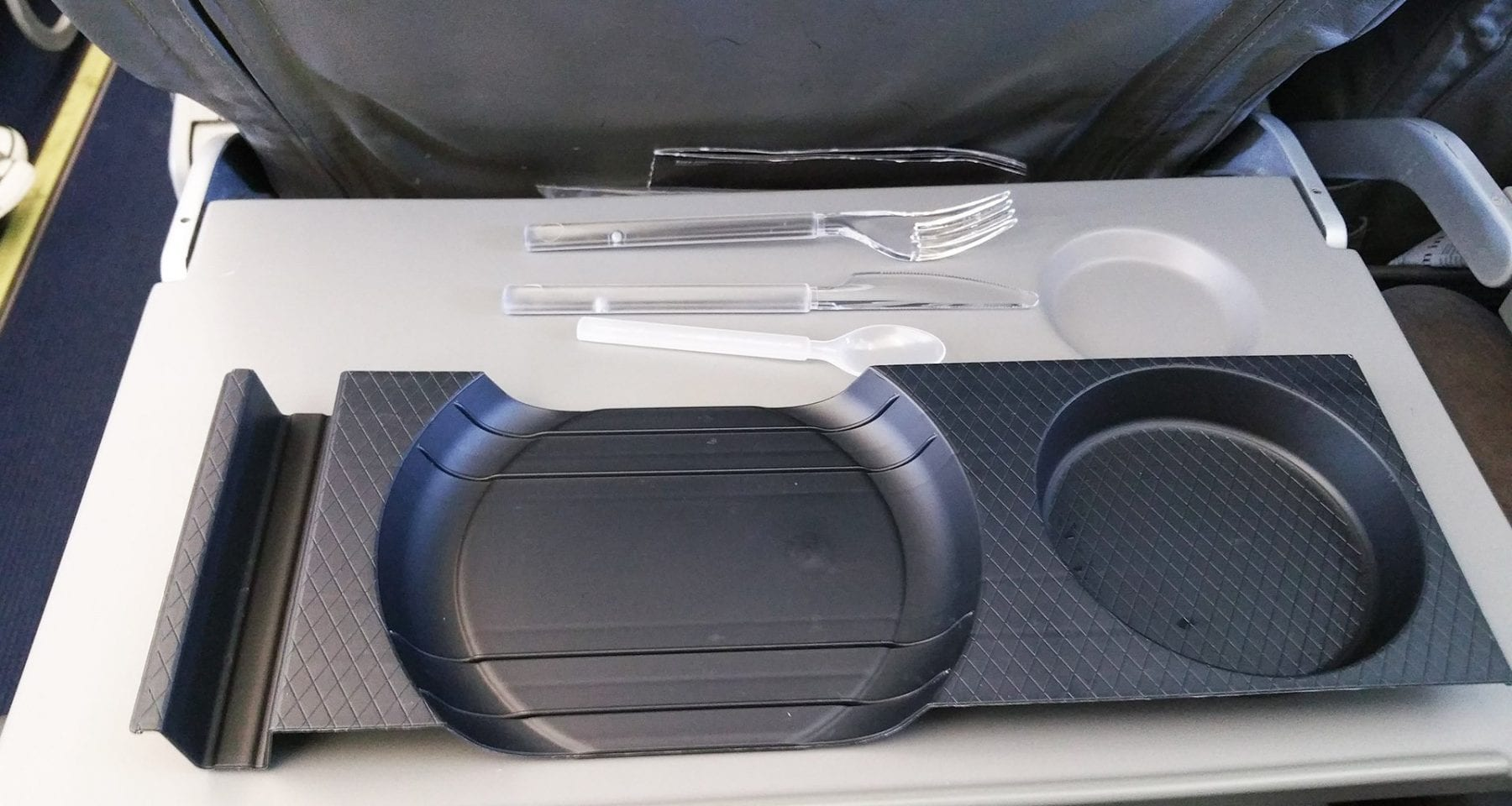 Condor absolute one inflight tray for economy class