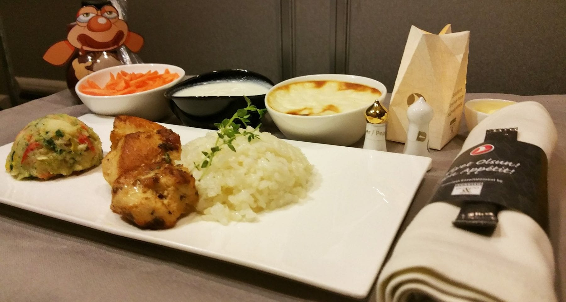 Turkish airlines kids meal business class