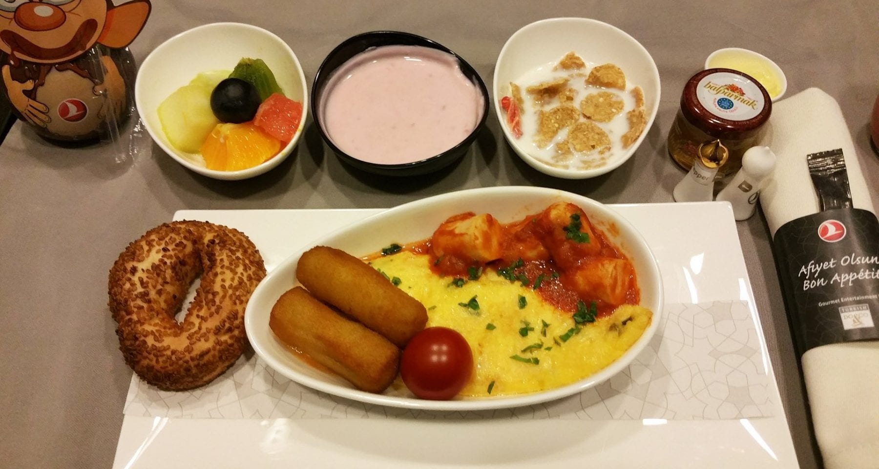 Turkish airlines kids meal breakfast business class