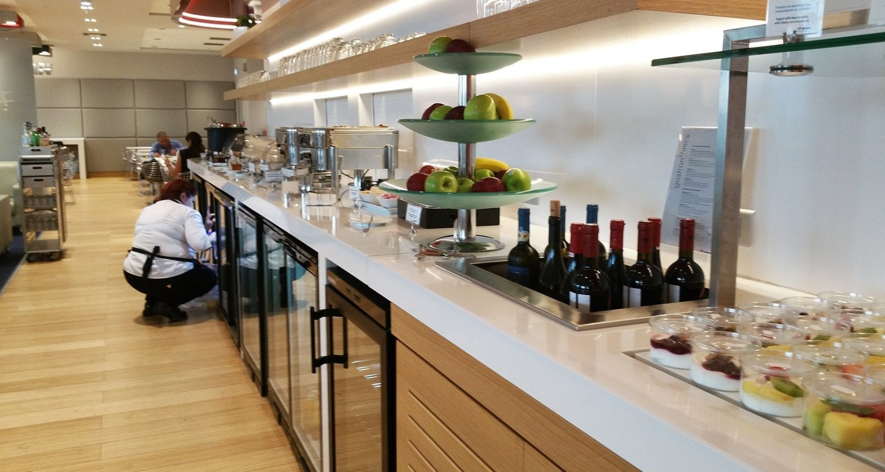 Aegean airlines lounge Athens airport