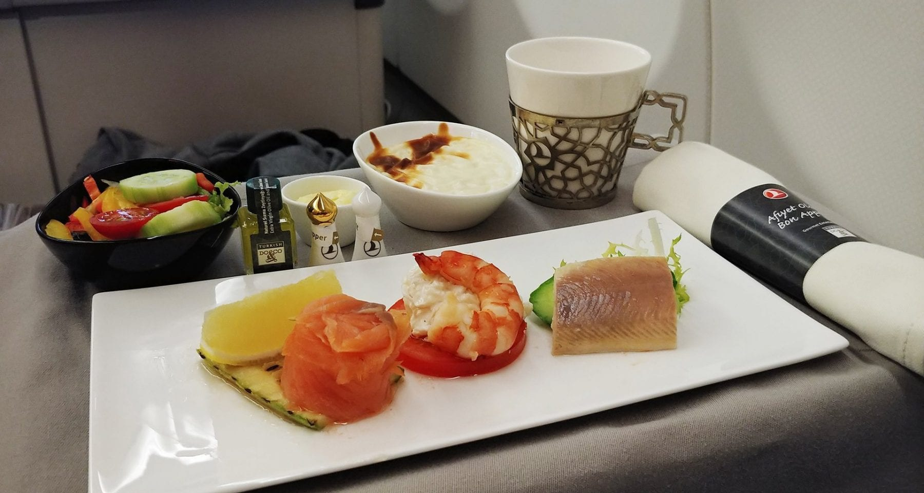 Turkish Airlines entree business class