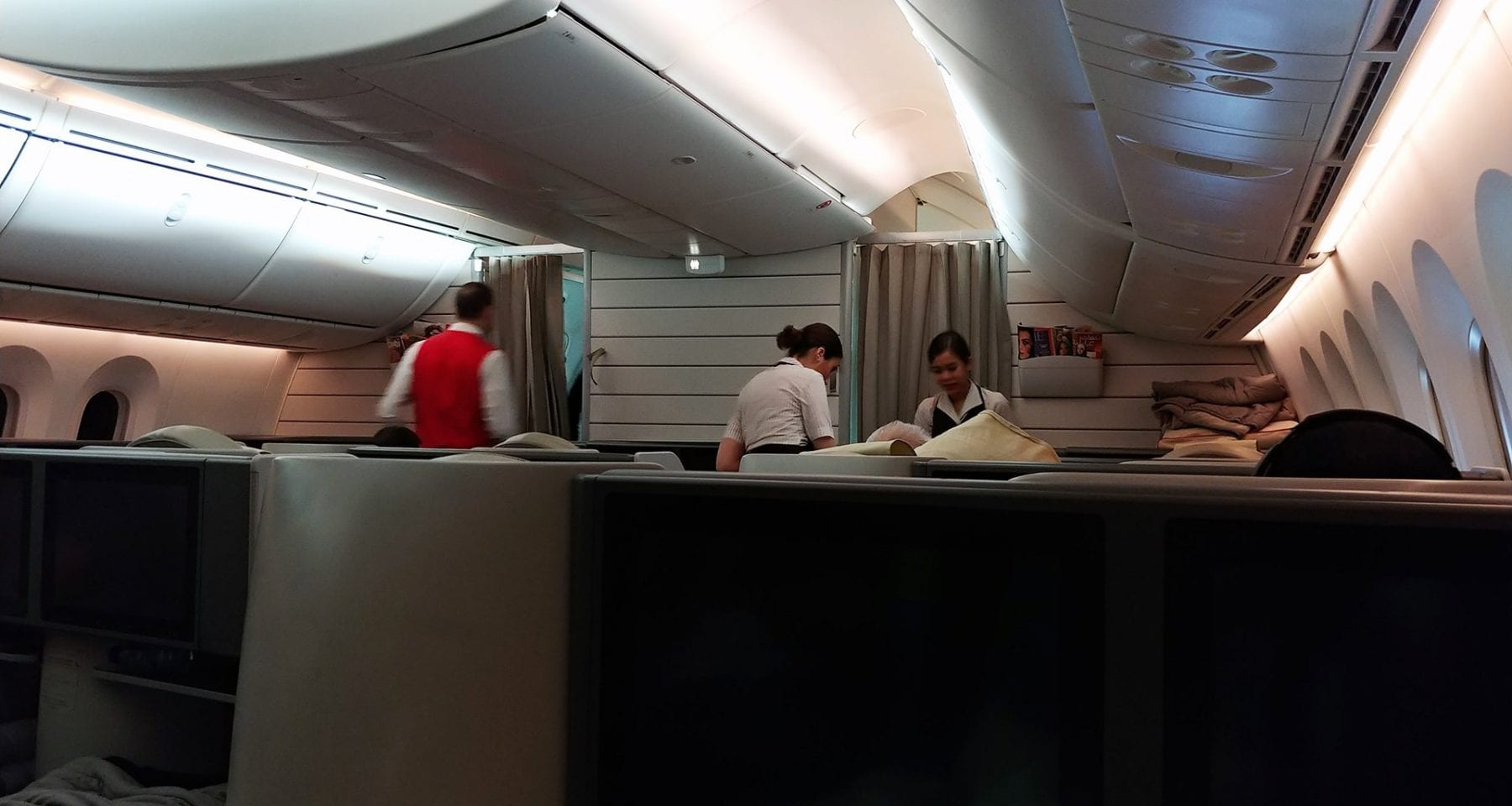 Royal Jordanian 787 Business Class Interior